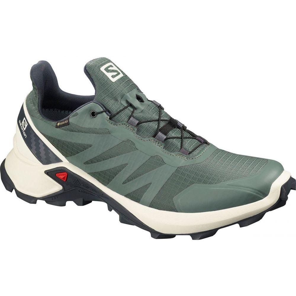 サロモン Salomon メンズ ランニング・ウォーキング シューズ・靴【Supercross GTX Trail Running Shoe】Balsam Green/Vanilla Ice/India Ink