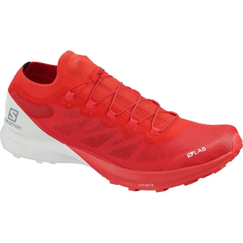 サロモン Salomon メンズ ランニング・ウォーキング シューズ・靴【S - Lab Sense 8 Trail Running Shoe】Racing Red/White/White