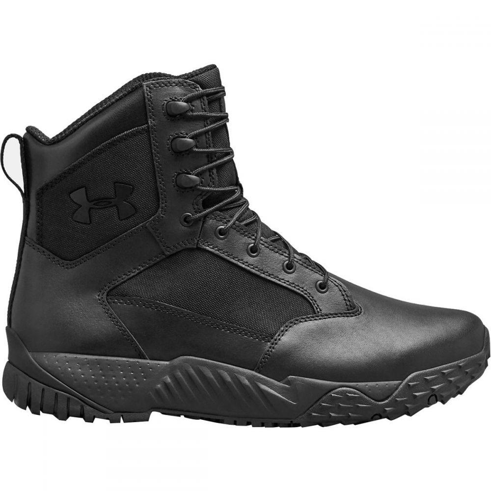 <title>アンダーアーマー メンズ ハイキング いよいよ人気ブランド 登山 シューズ 靴 Black サイズ交換無料 Under Armour ブーツ Stellar Tac WP Boot</title>