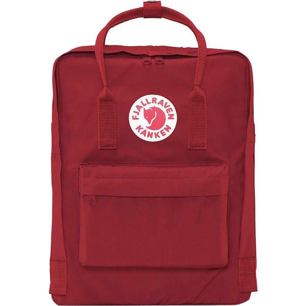 フェールラーベン Fjallraven レディース バックパック・リュック カンケン バッグ【Kanken 16L Backpack】Ox Red