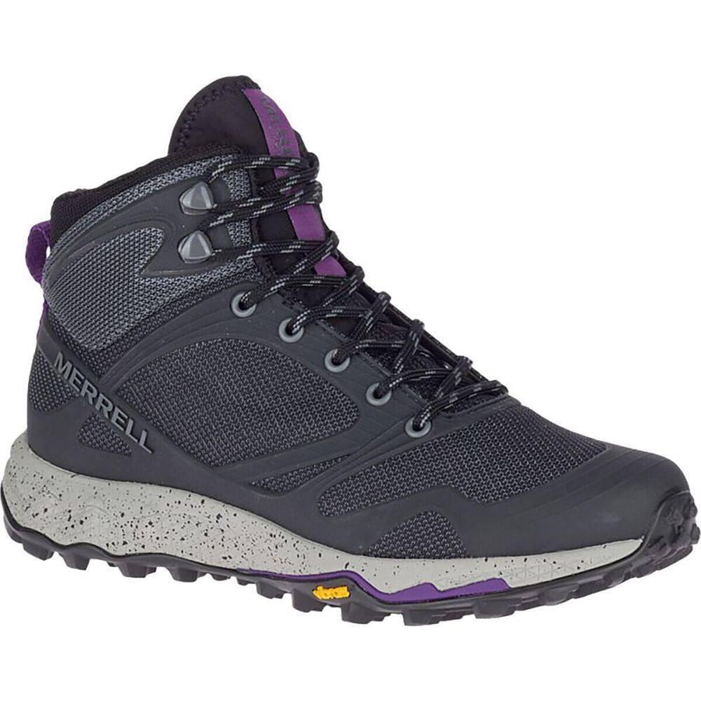 メレル Merrell レディース ハイキング・登山 ブーツ シューズ・靴【Altalight Knit Mid Hiking Boot】Black