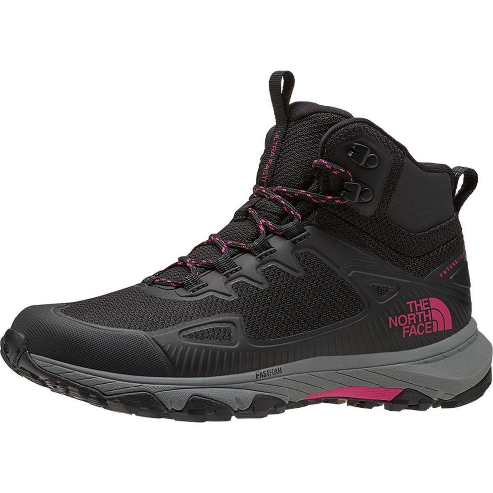 ザ ノースフェイス The North Face レディース ハイキング・登山 ブーツ シューズ・靴【Ultra Fastpack IV Mid FUTURELIGHT Hiking Boot】TNF Black/Mr. Pink