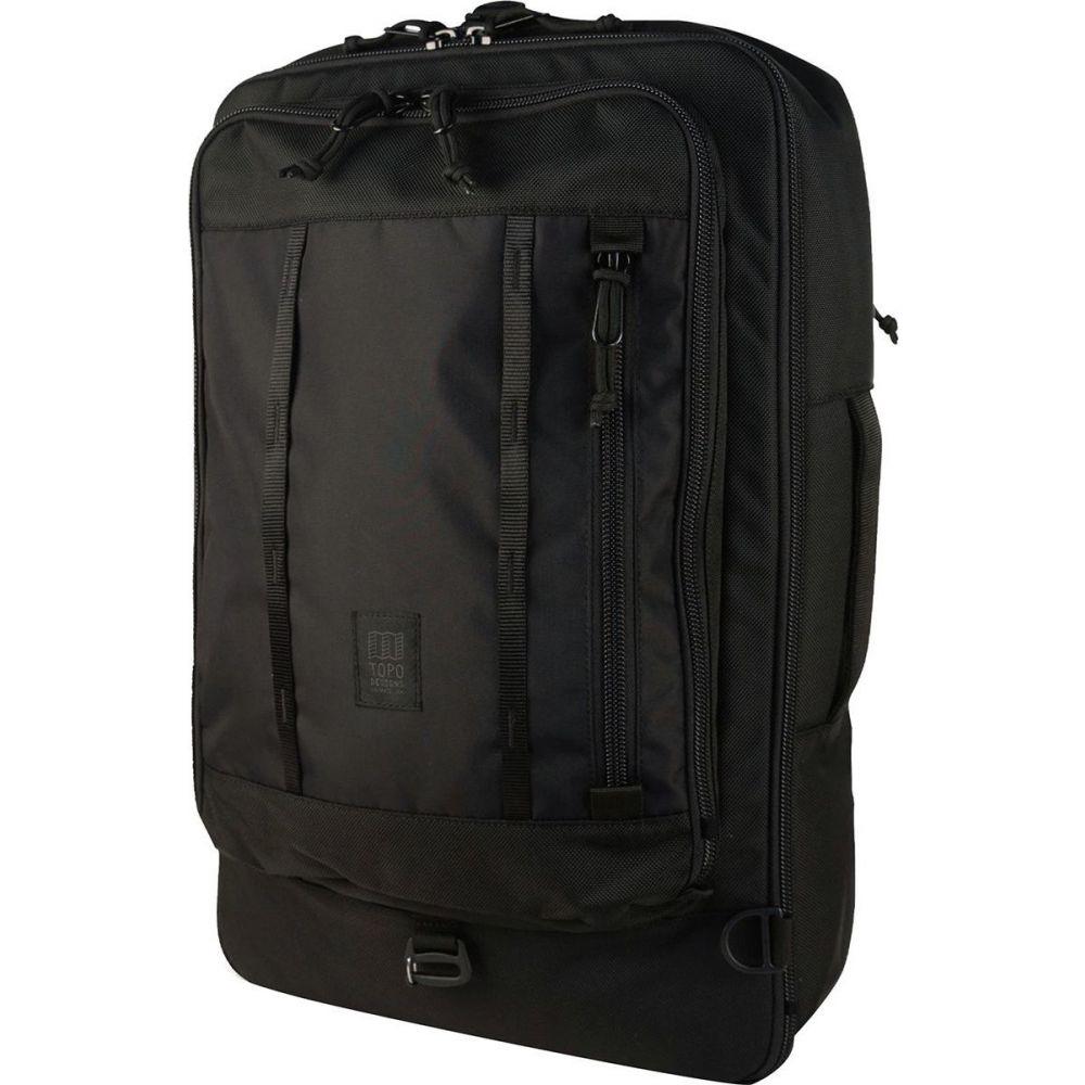トポ デザイン Topo Designs レディース バックパック・リュック バッグ【Travel 30L Bag】Ballistic Black