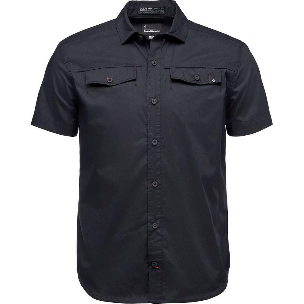 ブラックダイヤモンド Black Diamond メンズ 半袖シャツ トップス【Benchmark Short - Sleeve Shirt】Black