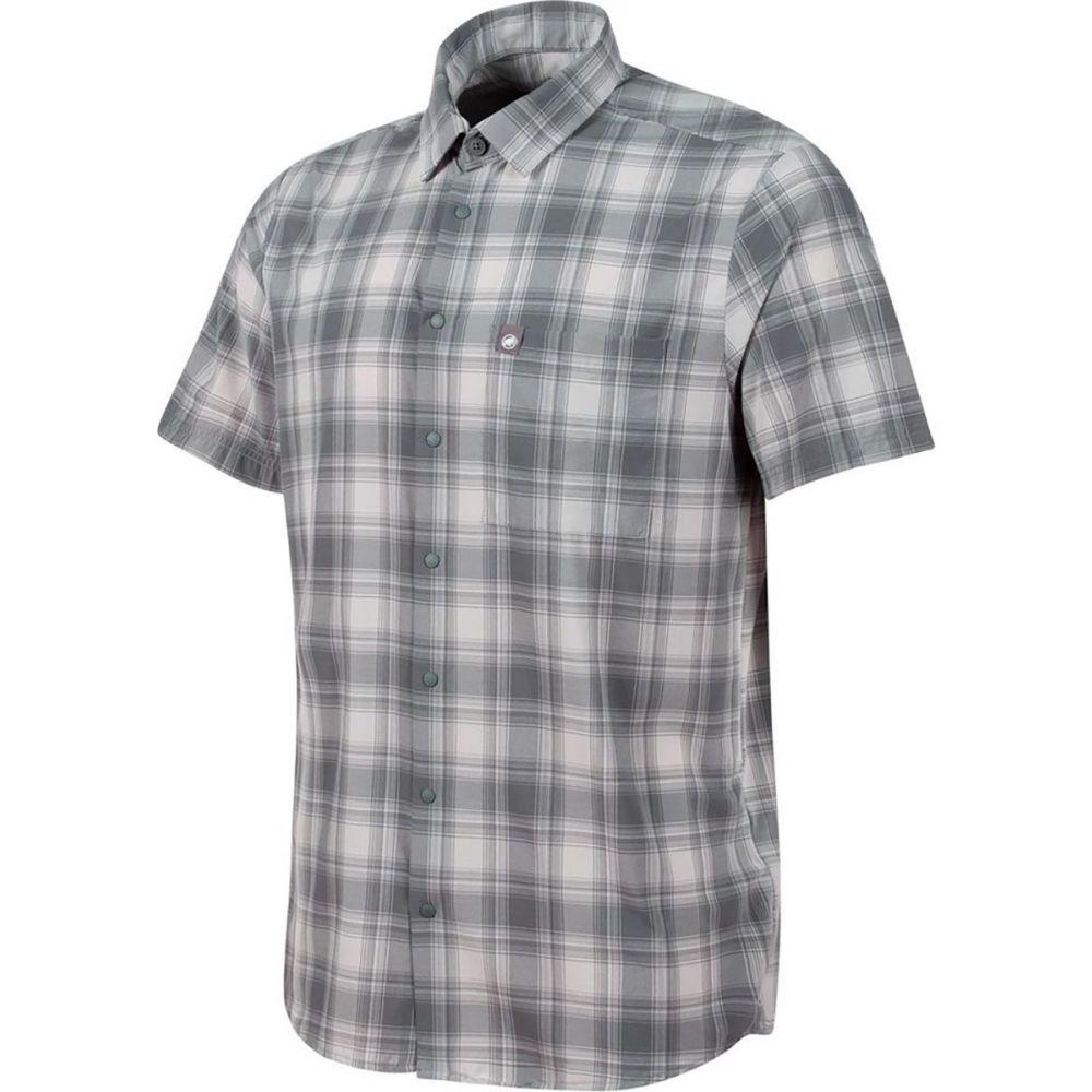 マムート Mammut メンズ 半袖シャツ トップス【Trovat Trail Shirt】Titanium