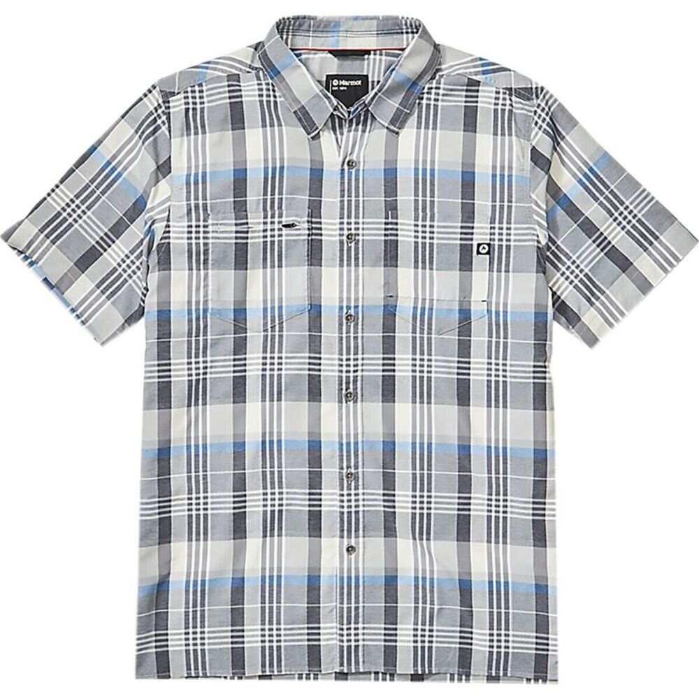 マーモット Marmot メンズ 半袖シャツ トップス【Innesdale Short - Sleeve Shirt】Sleet