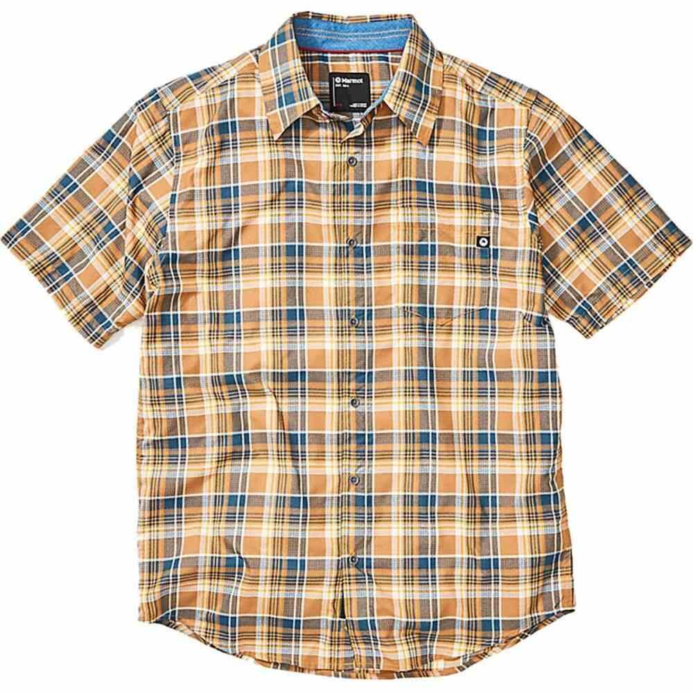 マーモット Marmot メンズ 半袖シャツ トップス【Syrocco Short - Sleeve Shirt】Solar