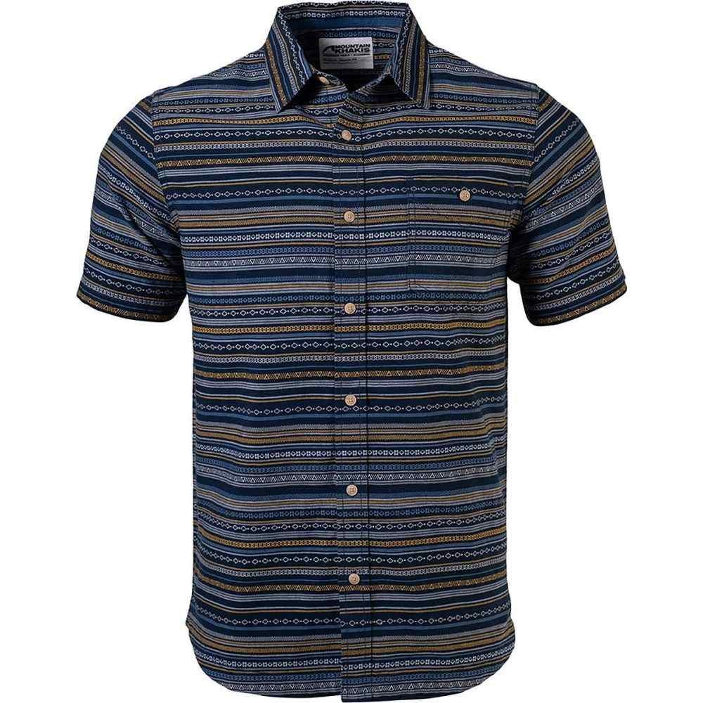 マウンテンカーキス Mountain Khakis メンズ 半袖シャツ トップス【Horizon Short - Sleeve Shirt】Indigo