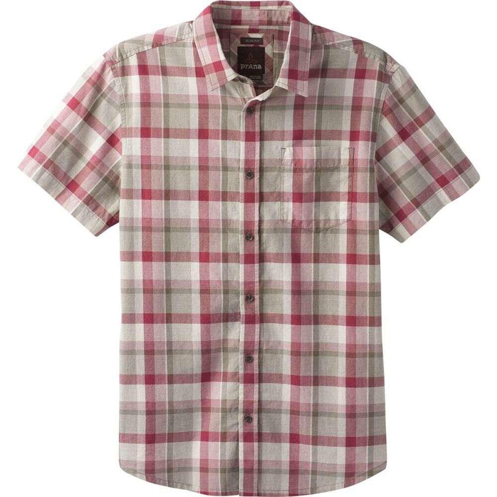 プラーナ Prana メンズ 半袖シャツ トップス【Bryner Shirt】Stone