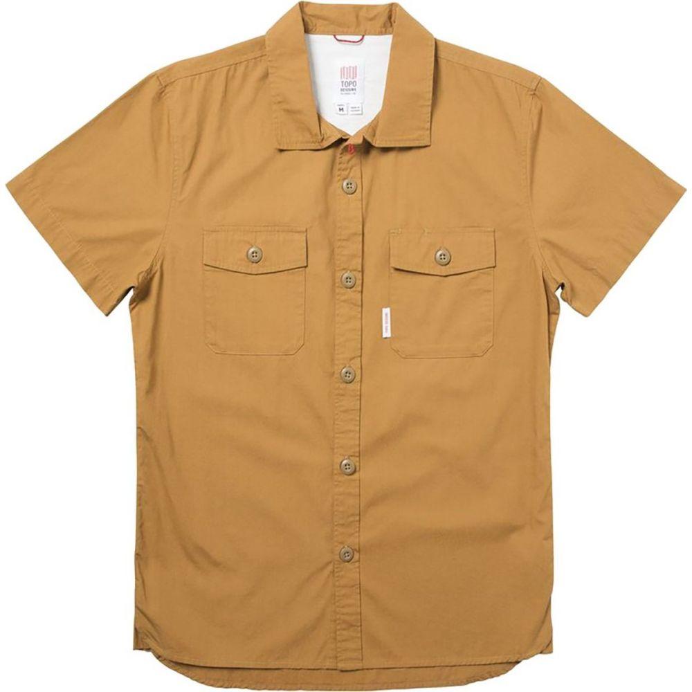 トポ デザイン Topo Designs メンズ 半袖シャツ トップス【Field Short - Sleeve Shirt】Khaki