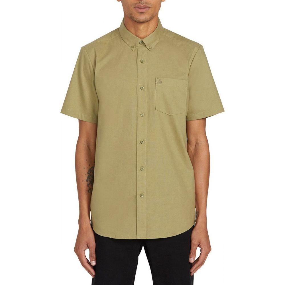 ボルコム Volcom メンズ 半袖シャツ トップス【Everett Oxford Short - Sleeve Shirt】Moss Stone