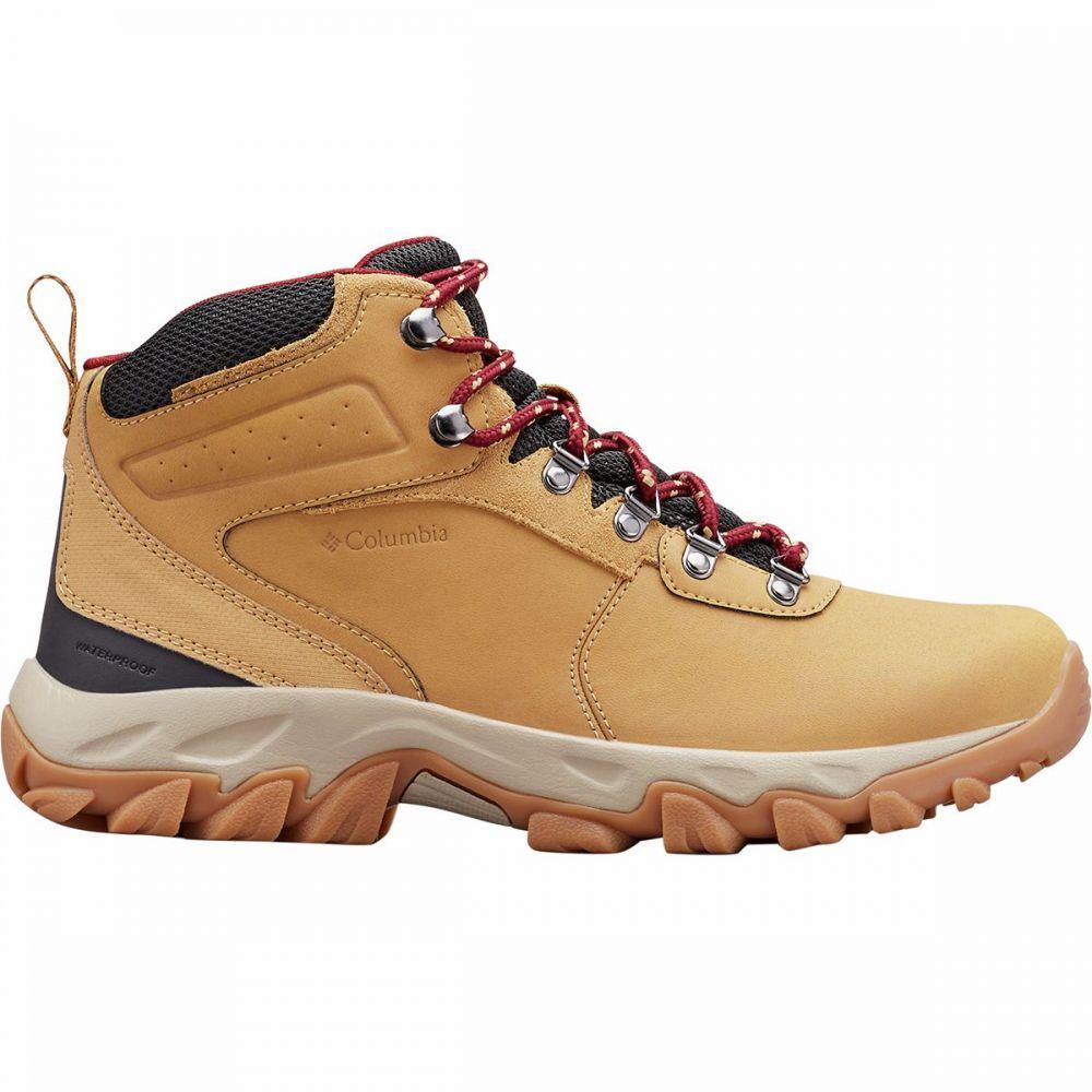コロンビア Columbia メンズ ハイキング・登山 ブーツ シューズ・靴【Newton Ridge Plus II Waterproof Hiking Boot】Curry/Red Jasper