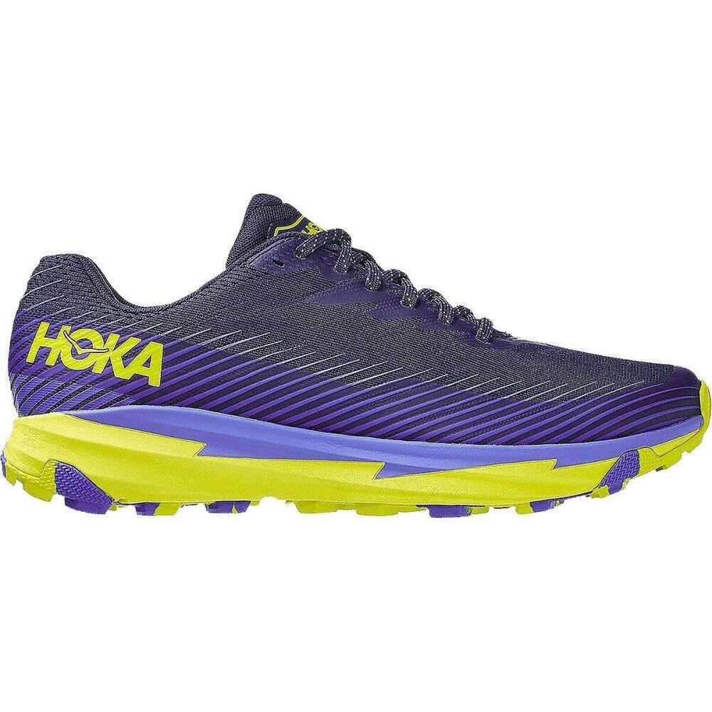 ホカ オネオネ HOKA ONE ONE メンズ ランニング・ウォーキング シューズ・靴【Torrent 2 Trail Running Shoe】Black Iris/Evening Primrose