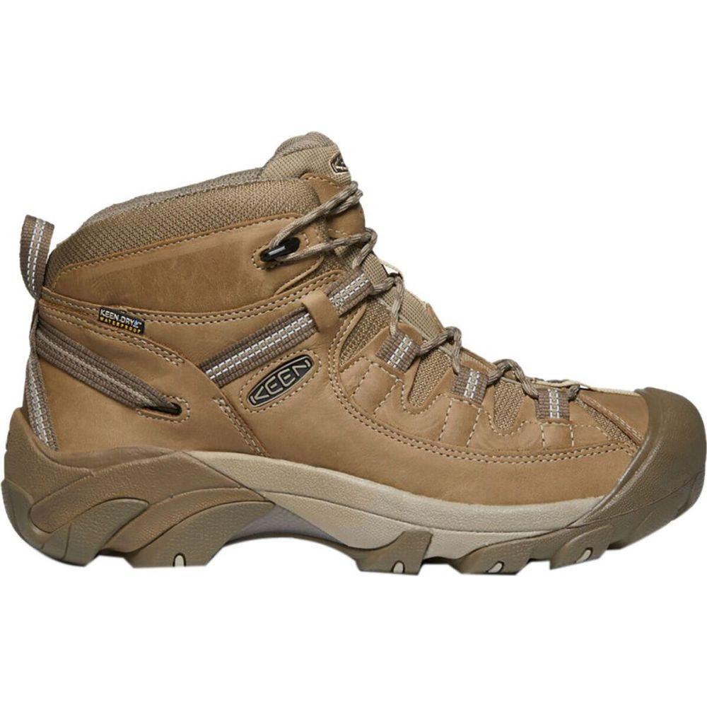 キーン KEEN メンズ ハイキング・登山 シューズ・靴【Targhee II Mid Waterproof Hiking Boot】Safari/Timberwolf
