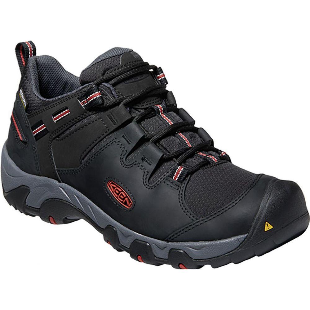 キーン KEEN メンズ ハイキング・登山 シューズ・靴【Steens WP Hiking Shoe】Black/Bossa Nova