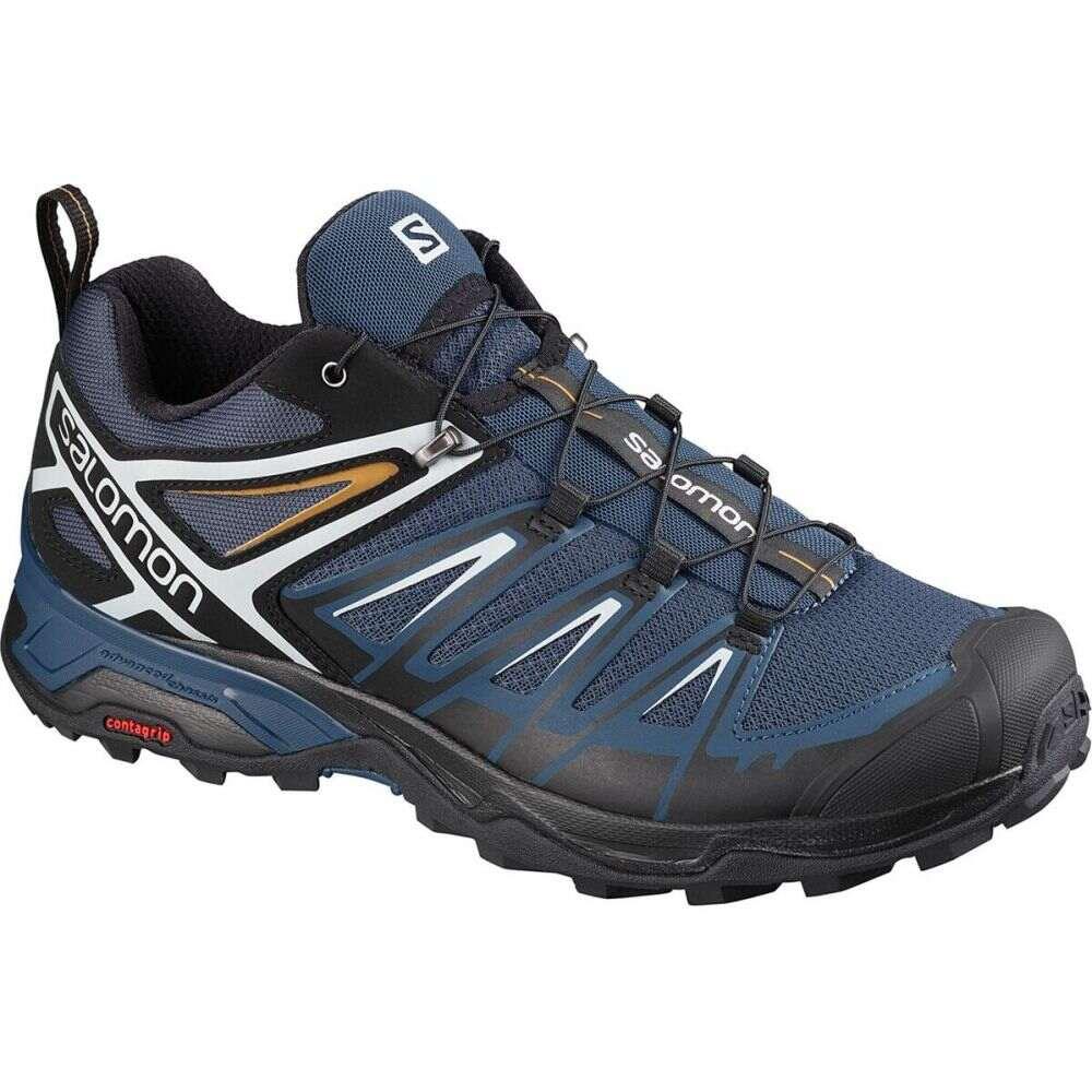 サロモン Salomon メンズ ハイキング・登山 シューズ・靴【X Ultra 3 Hiking Shoe】Dark Denim/Black/Cumin