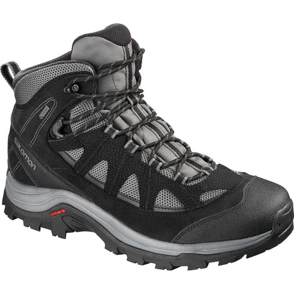 サロモン Salomon メンズ ハイキング・登山 ブーツ シューズ・靴【Authentic LTR GTX Backpacking Boot】Magnet/Black/Quiet Shade
