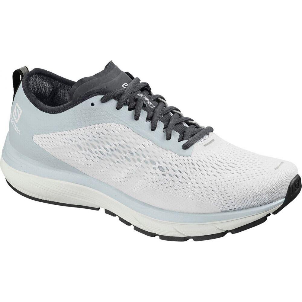 サロモン Salomon メンズ ランニング・ウォーキング シューズ・靴【Sonic RA 2 Running Shoe】White/Pearl Blue/Ebony