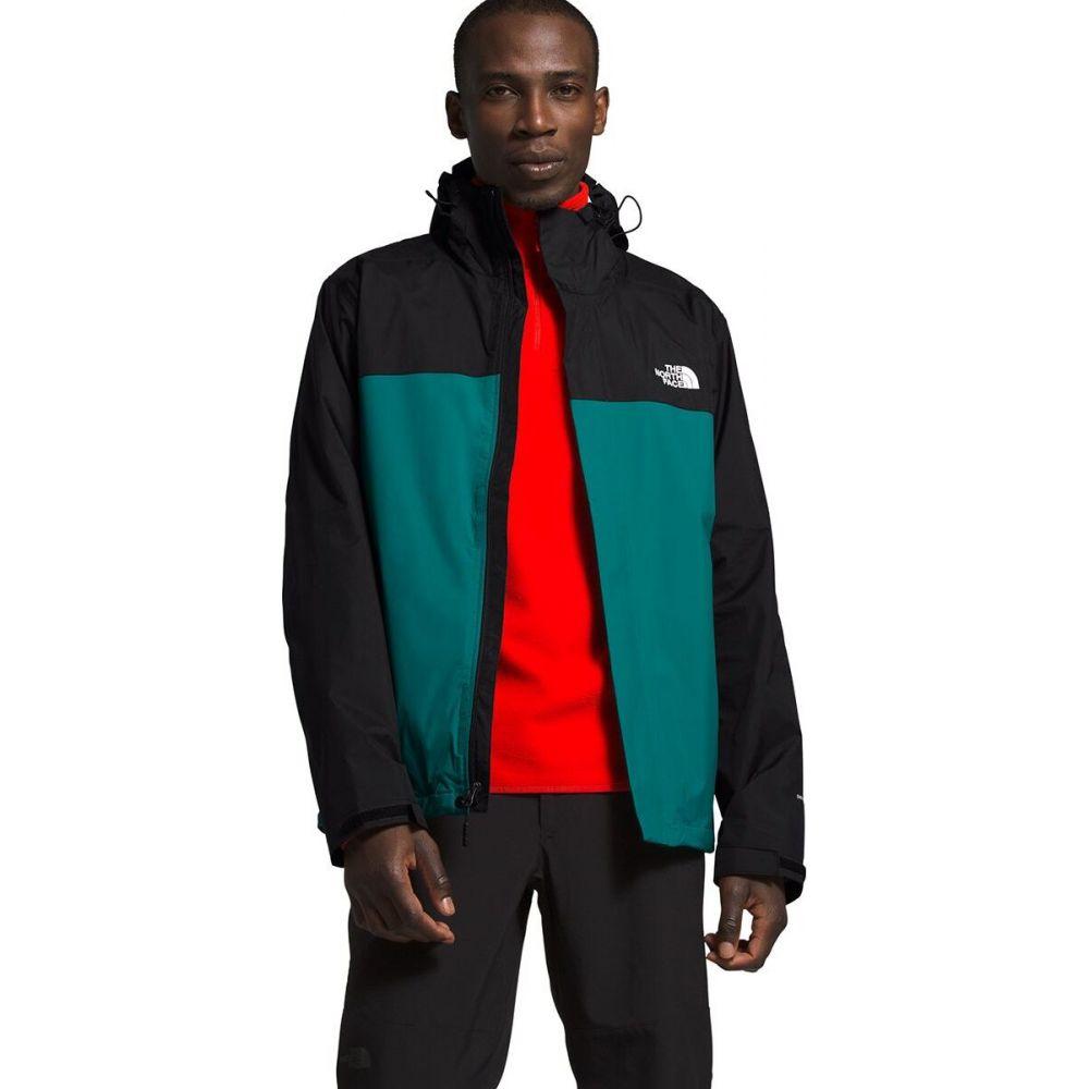 ザ ノースフェイス The North Face メンズ ジャケット フード アウター【Venture 2 Hooded Jacket】Fanfare Green/Tnf Black