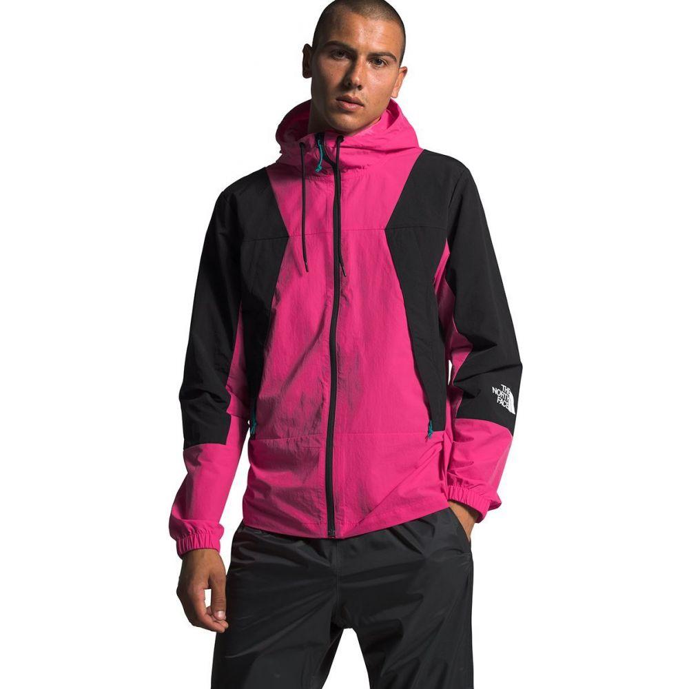 ザ ノースフェイス The North Face メンズ ジャケット ウィンドブレーカー アウター【Peril Wind Jacket】Mr. Pink/Tnf Black