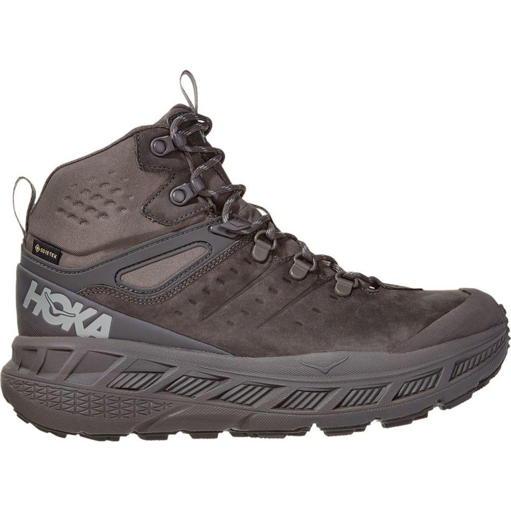 ホカ オネオネ HOKA ONE ONE メンズ ランニング・ウォーキング シューズ・靴【Stinson Mid GTX Hiking Shoe】Dark Gull Grey/Drizzle