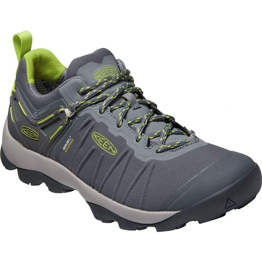 キーン KEEN メンズ ハイキング・登山 シューズ・靴【Venture Waterproof Hiking Shoe】Magnet/Chartreuse