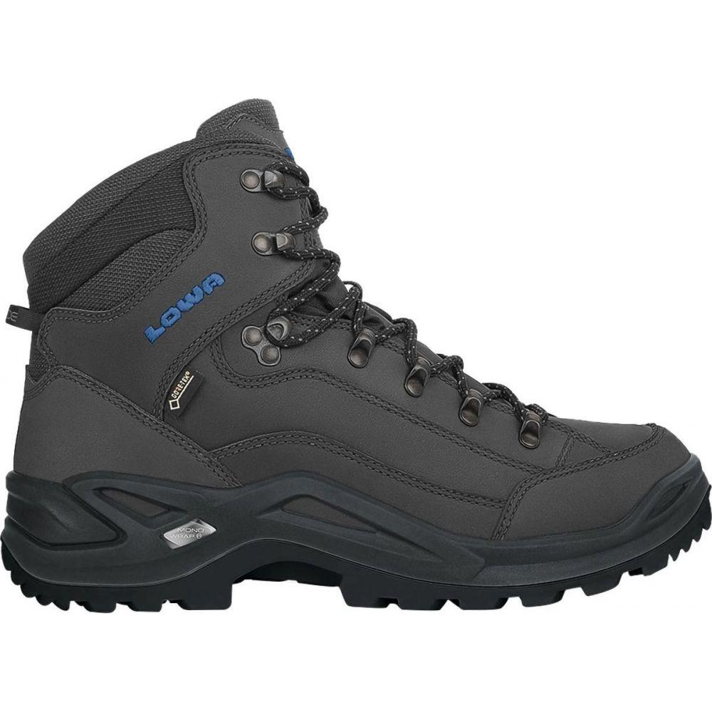ロワ Lowa メンズ ハイキング・登山 ブーツ シューズ・靴【Renegade GTX Mid Hiking Boot】Anthracite/Steel Blue