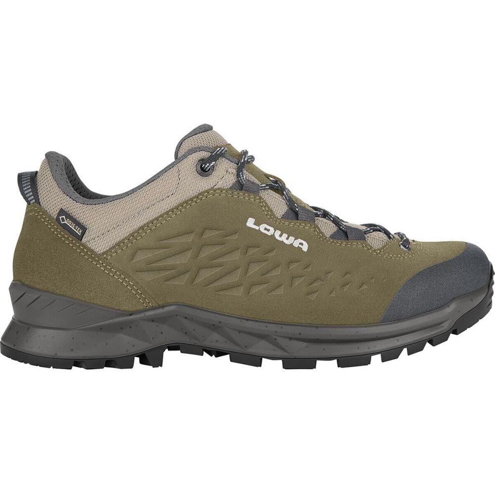 ロワ Lowa メンズ ハイキング・登山 シューズ・靴【Explorer GTX Lo Hiking Shoe】Olive/Grey