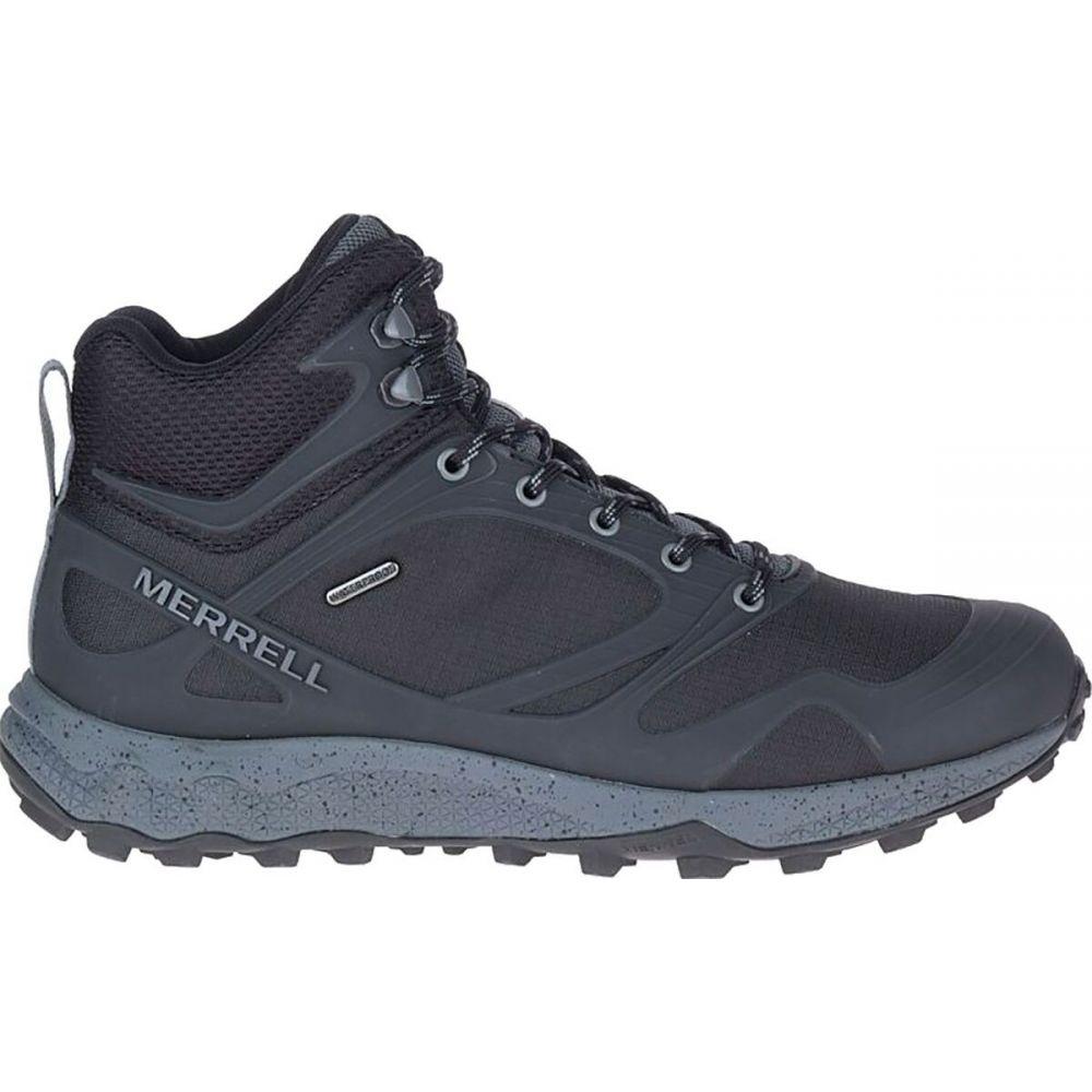 メレル Merrell メンズ ハイキング・登山 ブーツ シューズ・靴【Altalight Mid Waterproof Hiking Boot】Black/Rock