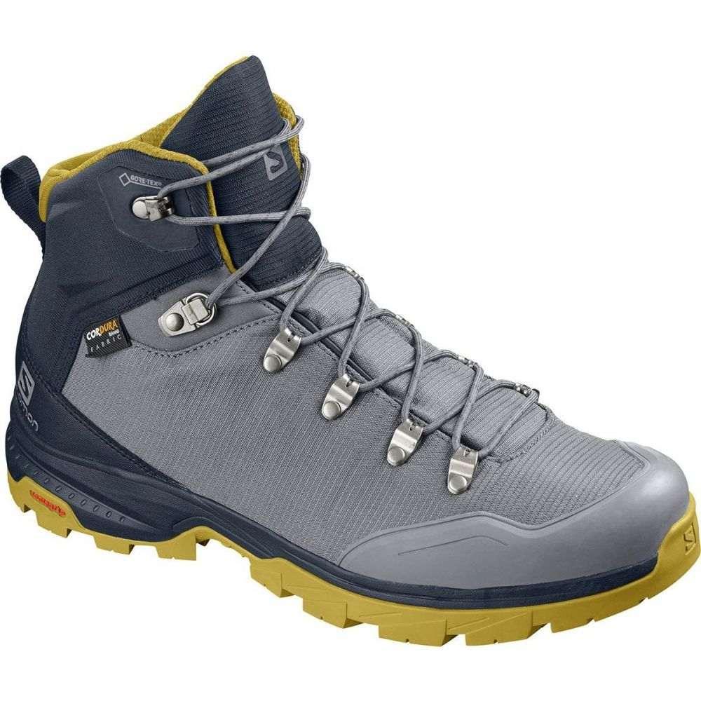 サロモン Salomon メンズ ハイキング・登山 ブーツ シューズ・靴【Outback 500 GTX Backpacking Boot】Quiet Shade/Navy Blazer/Green Sulphur