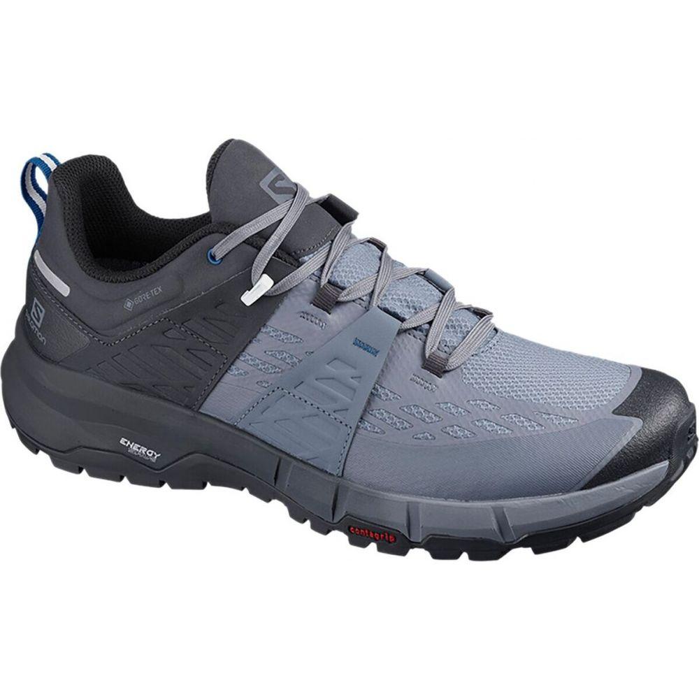 サロモン Salomon メンズ ハイキング・登山 シューズ・靴【Odyssey GTX Hiking Shoe】India Ink/Flint Stone/Imperial Blue