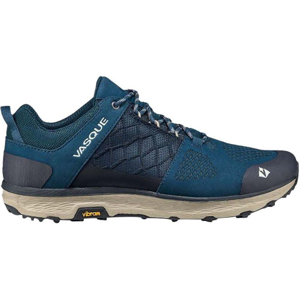 バスク Vasque メンズ ハイキング・登山 シューズ・靴【Breeze LT Low Hiking Shoe】Majolica Blue/Aluminum
