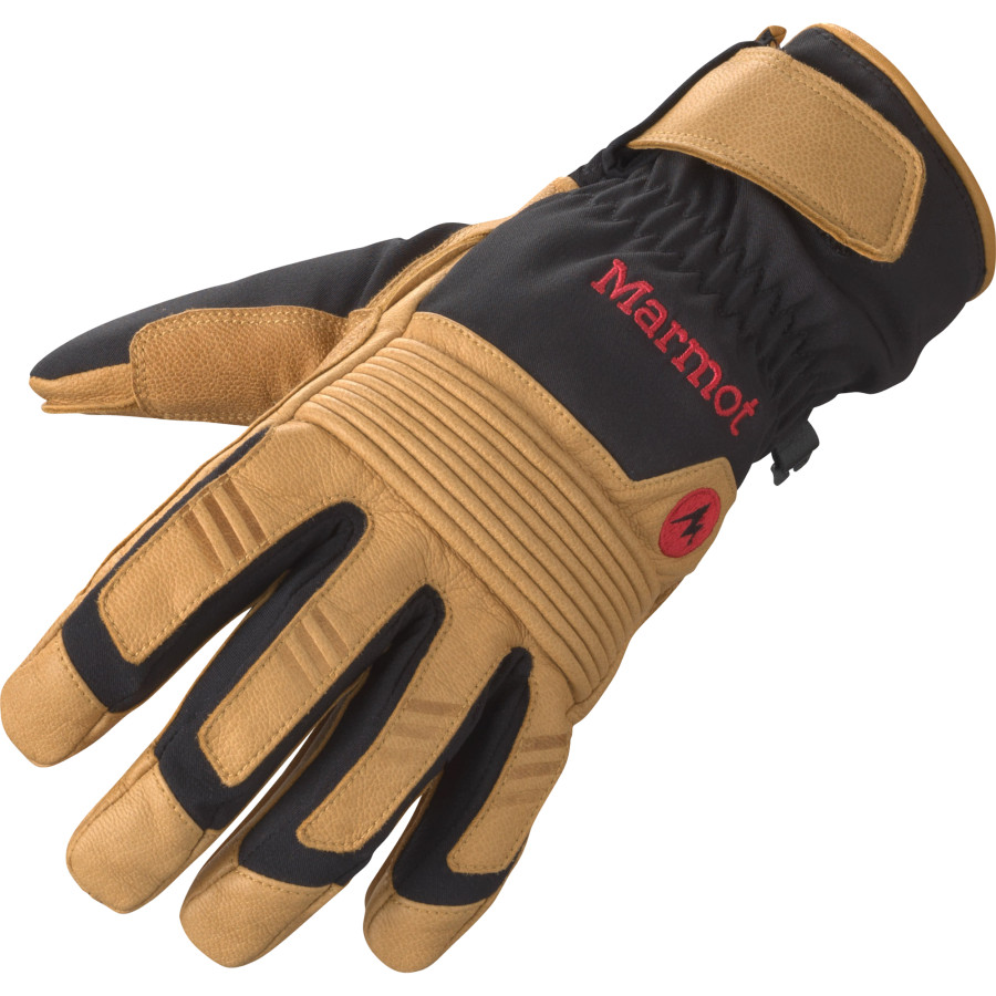 マーモット Marmot メンズ スキー グローブ【Exum Guide Undercuff Glove】Black/Tan