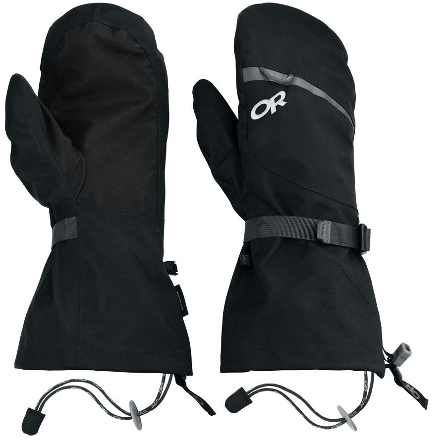 【超特価sale開催!】 アウトドアリサーチ Outdoor Research メンズ Research アクセサリー Outdoor Mitten】Black 手袋【Mt. Baker Modular Mitten】Black, ナオイリグン:c1390210 --- az1010az.xyz