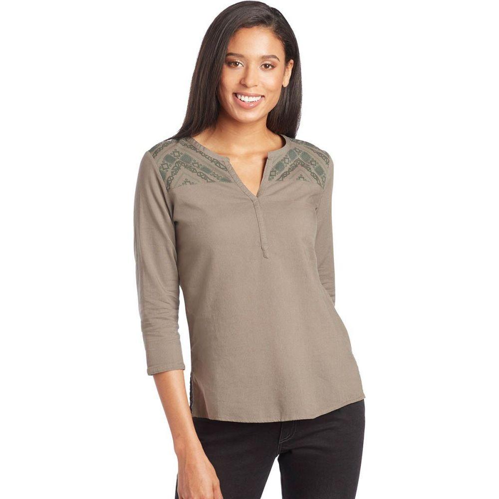 キュール KUHL レディース トップス 【Martina 3/4 - Sleeve Shirt】Sage