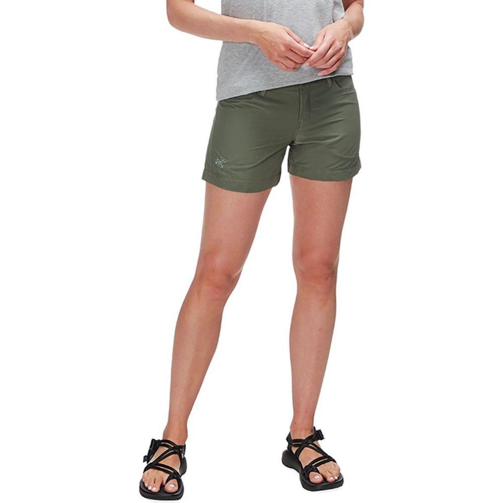 アークテリクス レディース ハイキング 爆買い新作 登山 ボトムス パンツ Shorepine ショートパンツ Short 往復送料無料 サイズ交換無料 4.5in Arc'teryx Creston