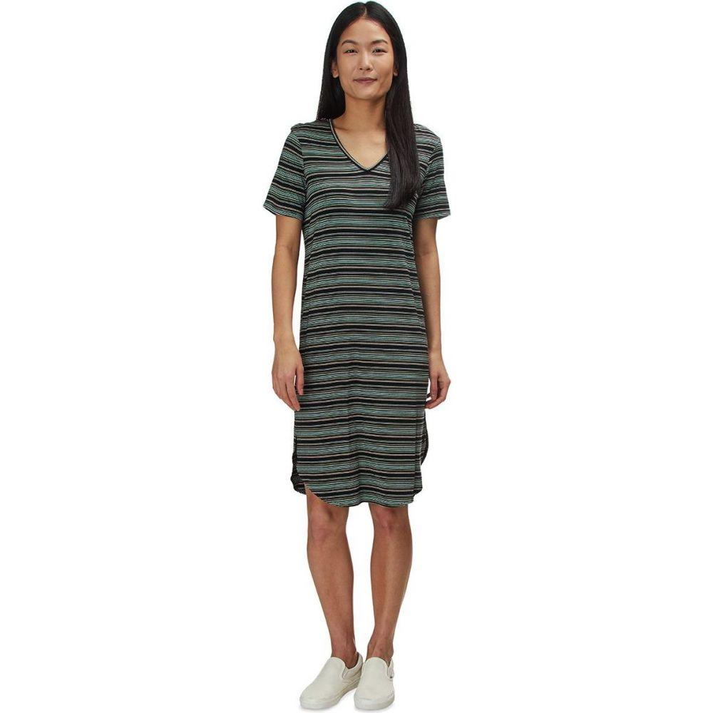 カブー KAVU レディース ワンピース ワンピース・ドレス【Sachi Dress】Night Stripe