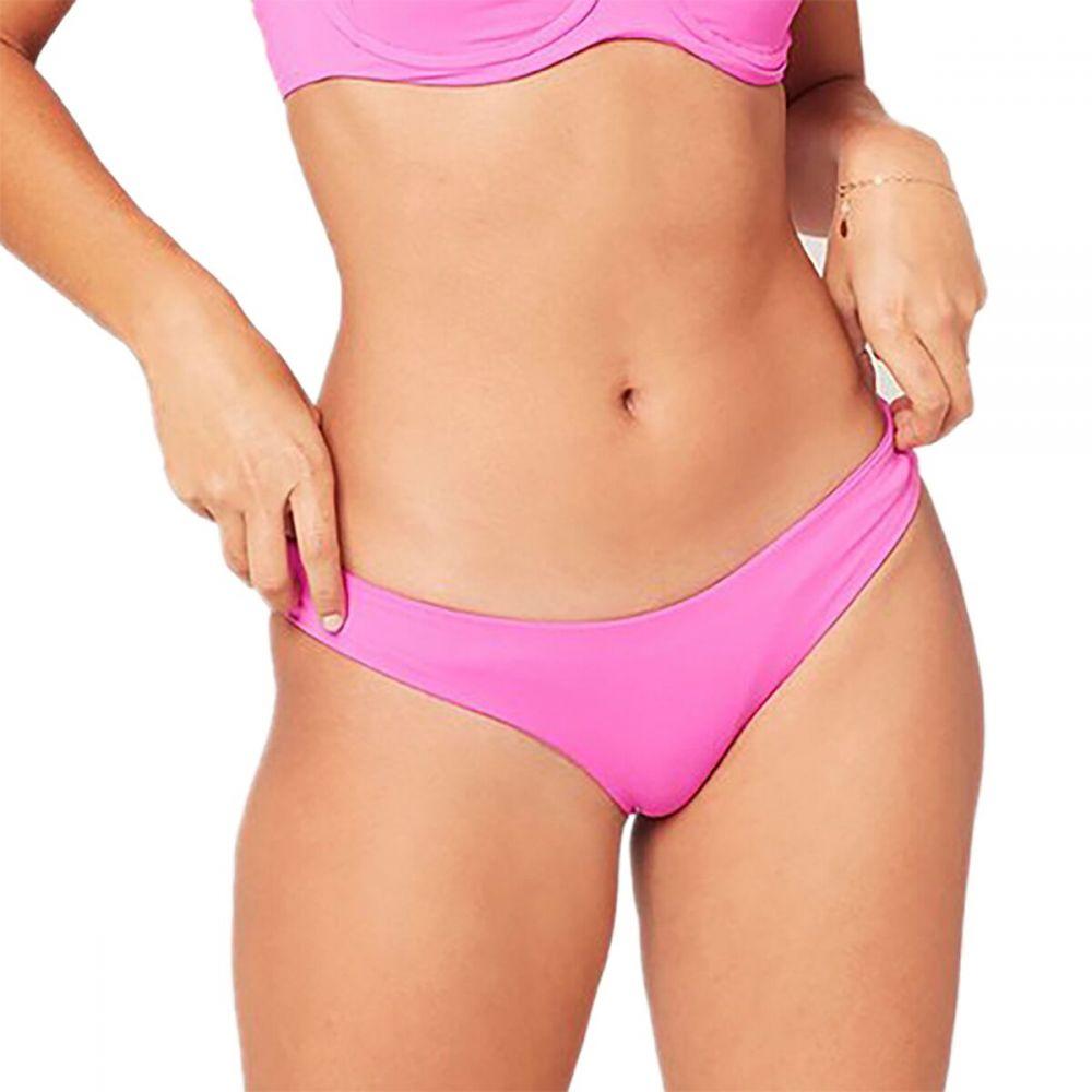 エルスペース L Space レディース ボトムのみ 水着・ビーチウェア【Sensual Solids Sandy Classic Bikini Bottom】Bright Fuschia