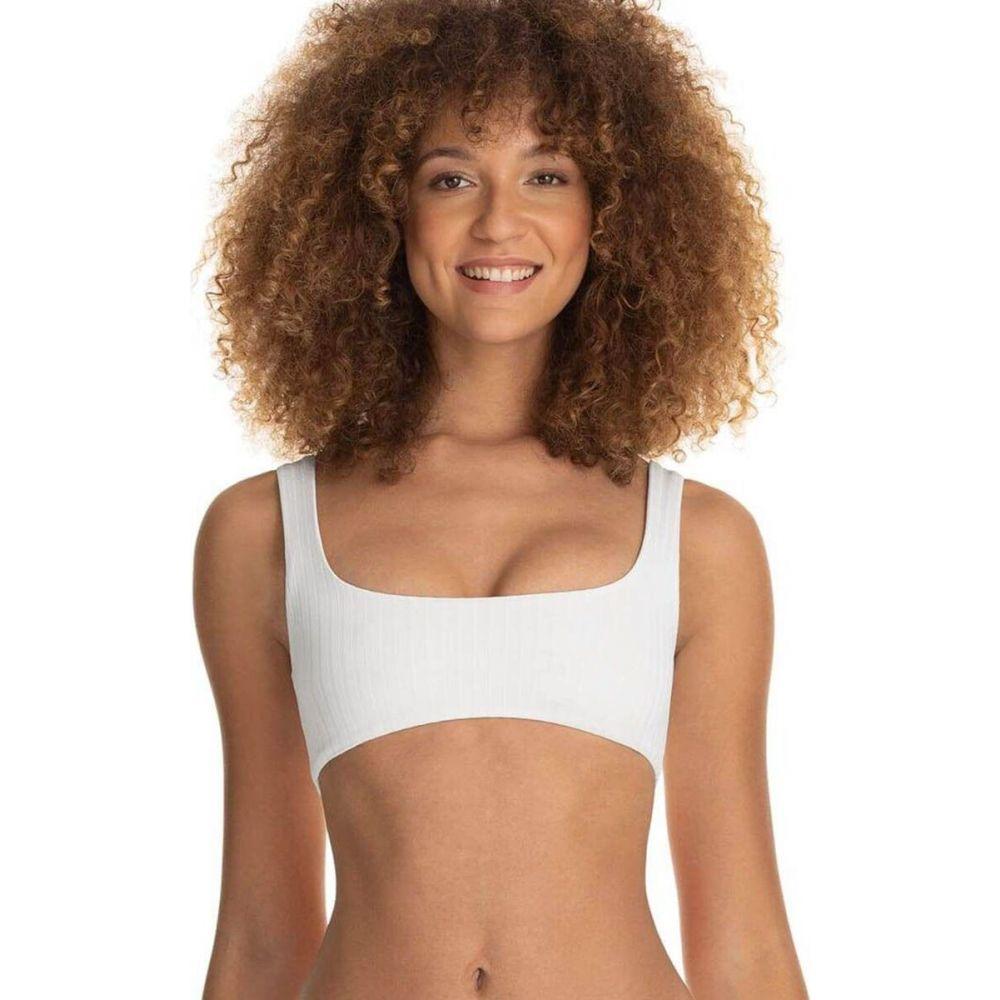 マージ Maaji レディース トップのみ 水着・ビーチウェア【Card White Izzy Sport Bikini Top】White
