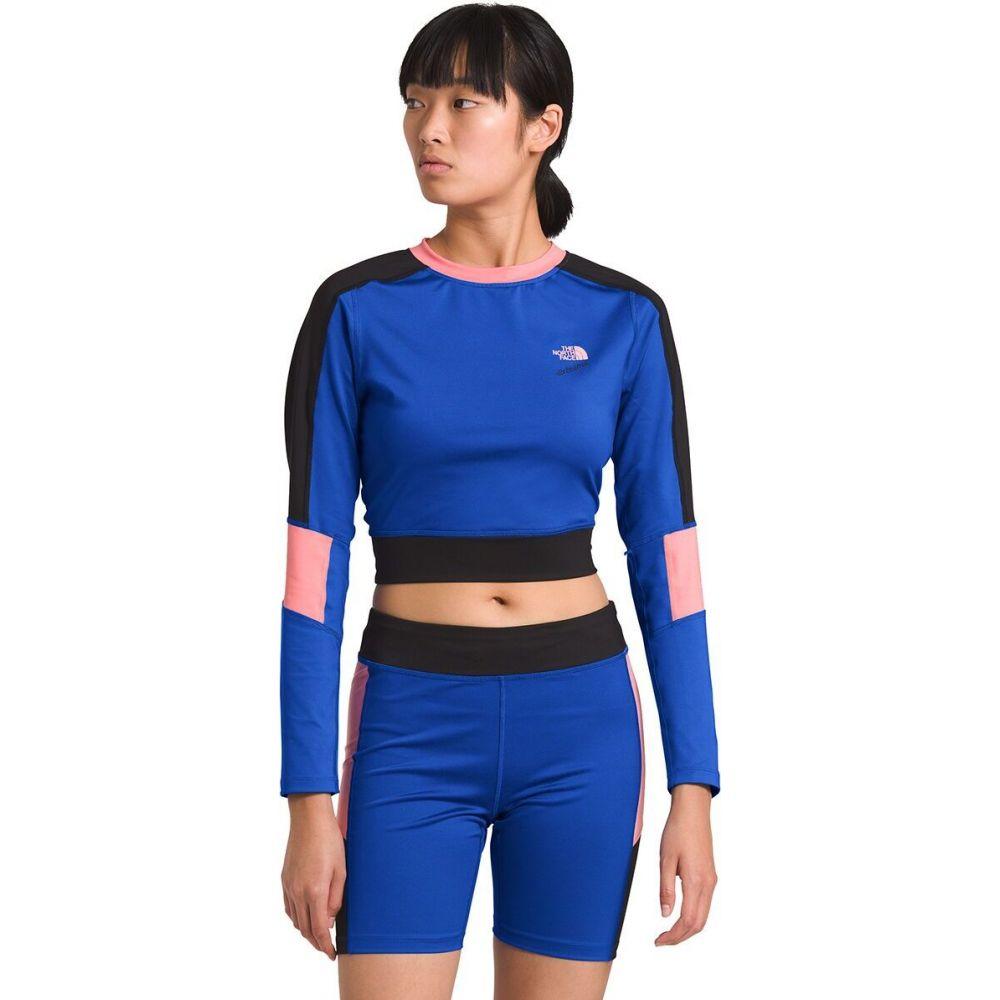 ザ ノースフェイス The North Face レディース 長袖Tシャツ トップス【90 Extreme Knit Long - Sleeve Top】Tnf Blue Combo