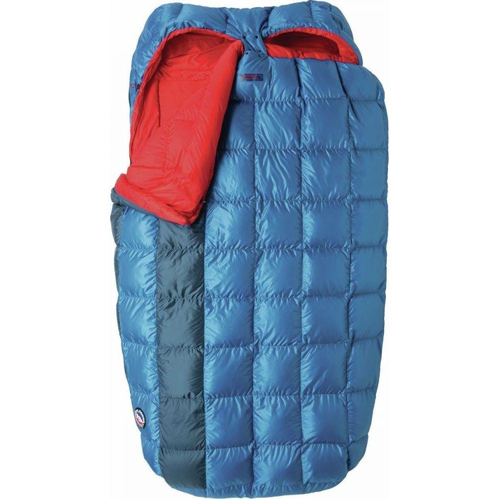ビッグアグネス Big Agnes レディース ハイキング・登山 【Sentinel Double Sleeping Bag: 30F Down】Blue/Red