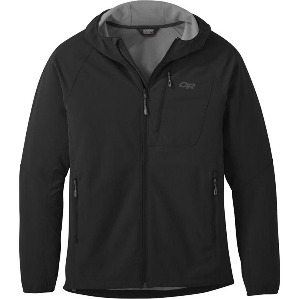 アウトドアリサーチ Outdoor Research メンズ ランニング·ウォーキング フード ジャケット アウター【Ferrosi Grid Hooded Jacket】Black