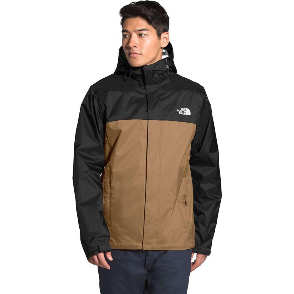 ザ 品質保証 ノースフェイス メンズ アウター レインコート Utility Brown TNF Black Venture North The 2 Face サイズ交換無料 高級品 フード Jacket Hooded