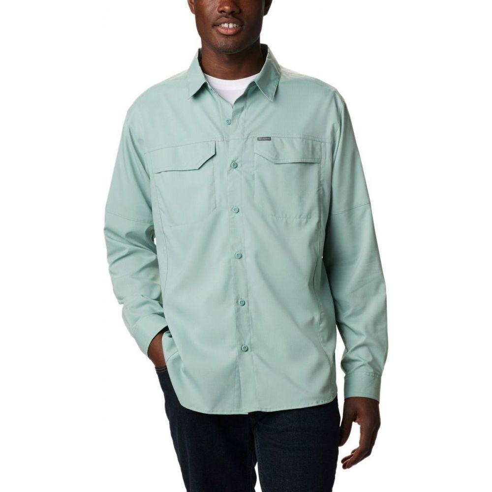 【翌日発送可能】 コロンビア Columbia メンズ シャツ トップス【Silver Ridge Lite Long - Sleeve Shirt】Aqua Tone, ヒガシドオリムラ ea2bcf95