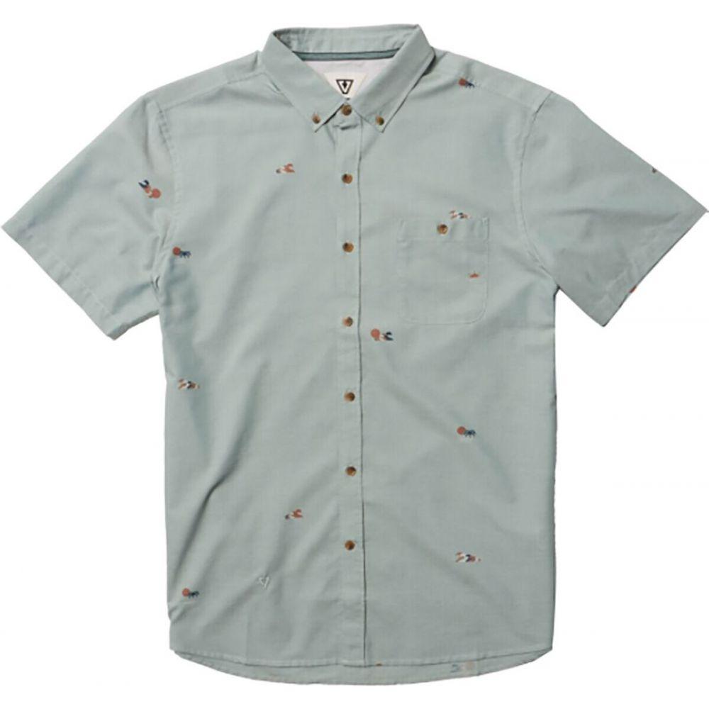 人気を誇る ヴィスラ Vissla メンズ 半袖シャツ トップス【Stacked Short - Sleeve Eco Shirt】Smokey Jade, LANTERN Web Shop 5f2040ff