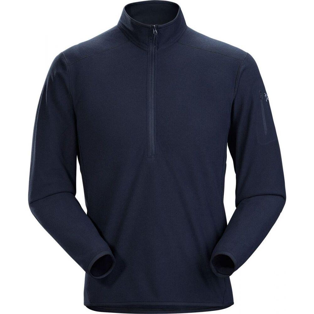 アークテリクス メンズ クライミング トップス Kingfisher 100%品質保証 サイズ交換無料 Arc'teryx 新色追加して再販 Neck LT Fleece Zip Pullover Delta -