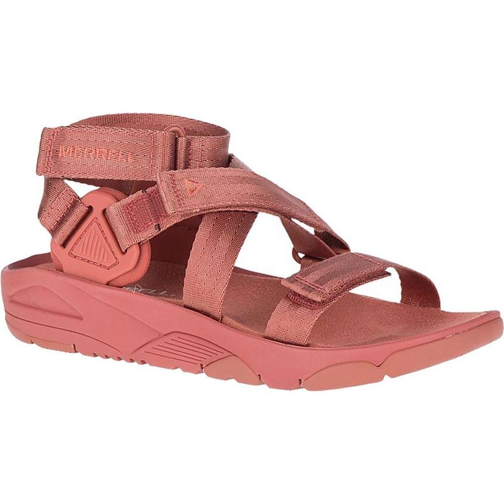 メレル Merrell レディース サンダル・ミュール シューズ・靴【Belize Mid Web Sandal】Redwood