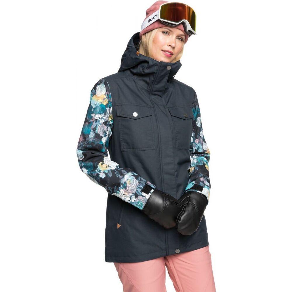 ロキシー レディース スキー 即納送料無料! スノーボード アウター True Black Sammy Hooded フード Ceder セール特価 ジャケット Roxy Jacket サイズ交換無料