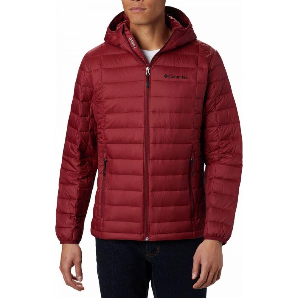 コロンビア メンズ アウター ダウン 中綿ジャケット Red Jasper サイズ交換無料 Jacket 安い Falls フード Voodoo Hooded Columbia 売れ筋ランキング 590 Turbodown