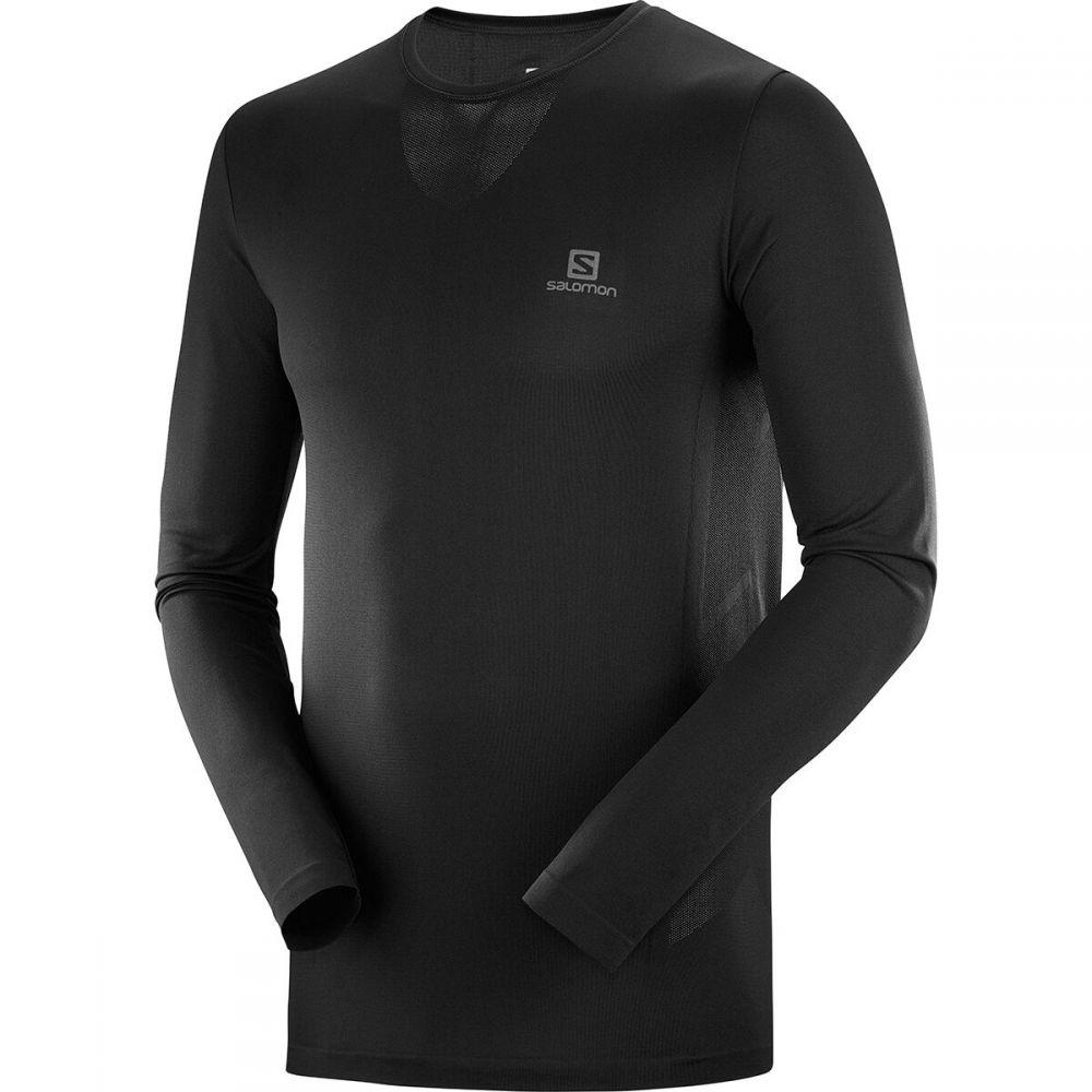 サロモン Salomon メンズ 長袖Tシャツ トップス【Sense Pro Long - Sleeve T - Shirt】Black